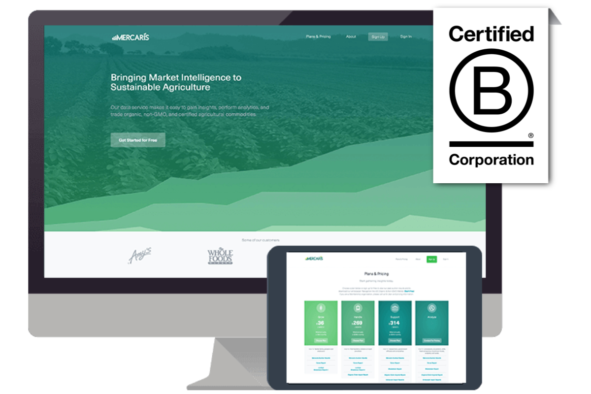 Mercaris Certified B Corp