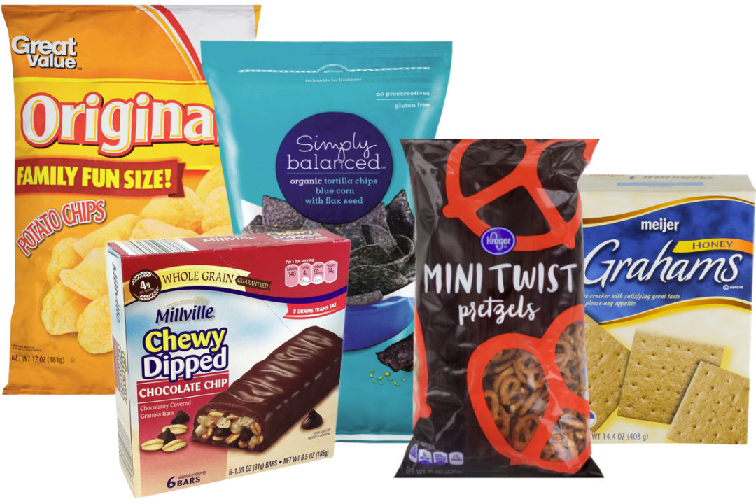 Private label snacks
