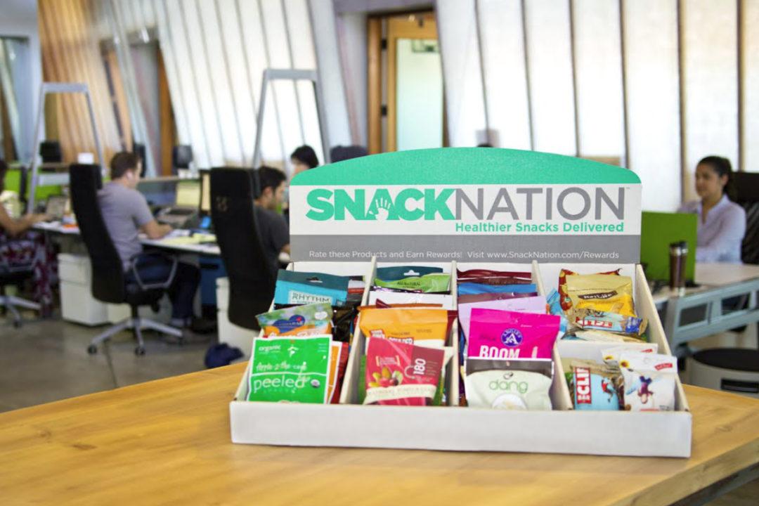 SnackNation box in office