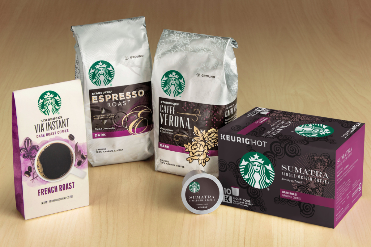 Starbucks C.P.G. products