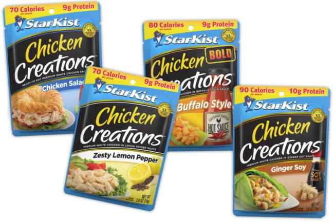 Starkist Chicken Creations pouches