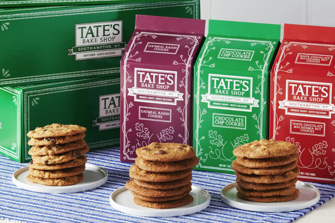 Tate's Bake Shop assorted cookies, Monmdelez