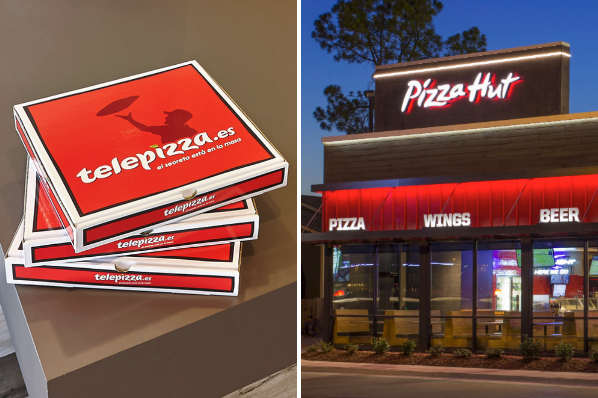 Telepizza and Pizza Hut