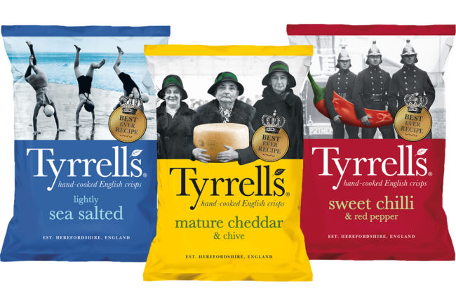 Tyrells potato chips