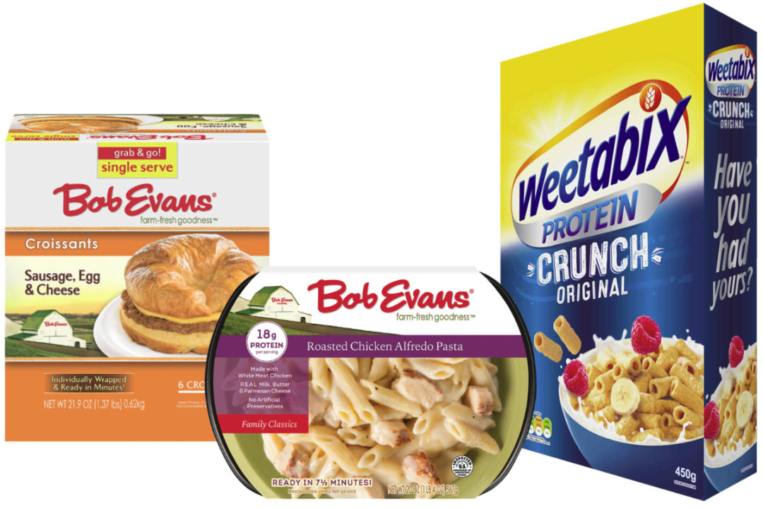 Weetabix and Bob Evans Farms products, Post Holdings