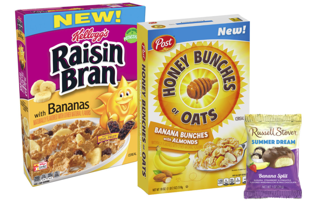 Banana-flavored products
