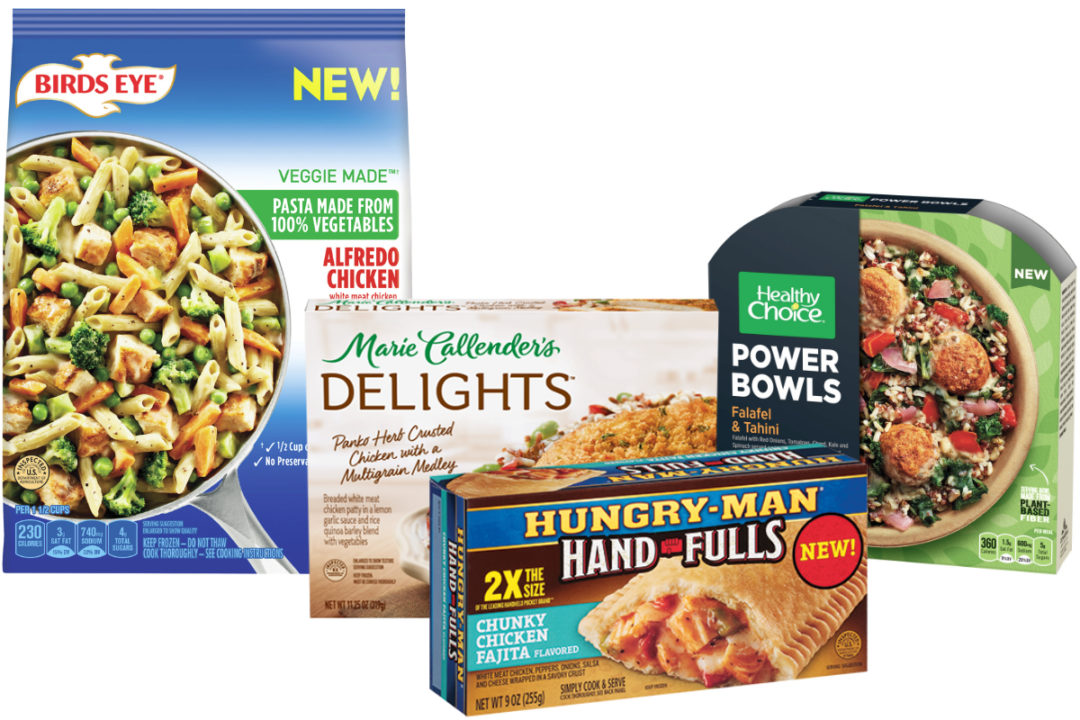 Conagra and Pinnacle frozen foods