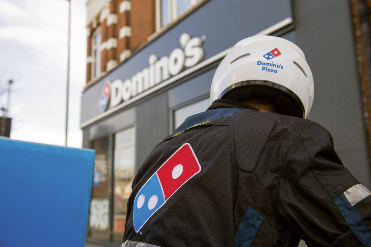 Dominos Pizza delivery