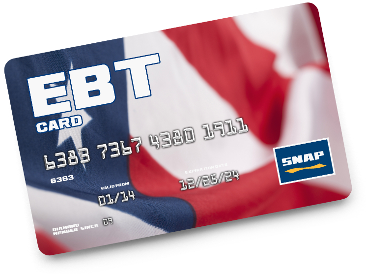 EBT SNAP benefits card