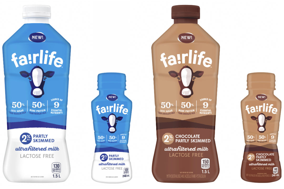 Coca-Cola fairlife milk