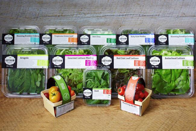 Gotham Greens produce