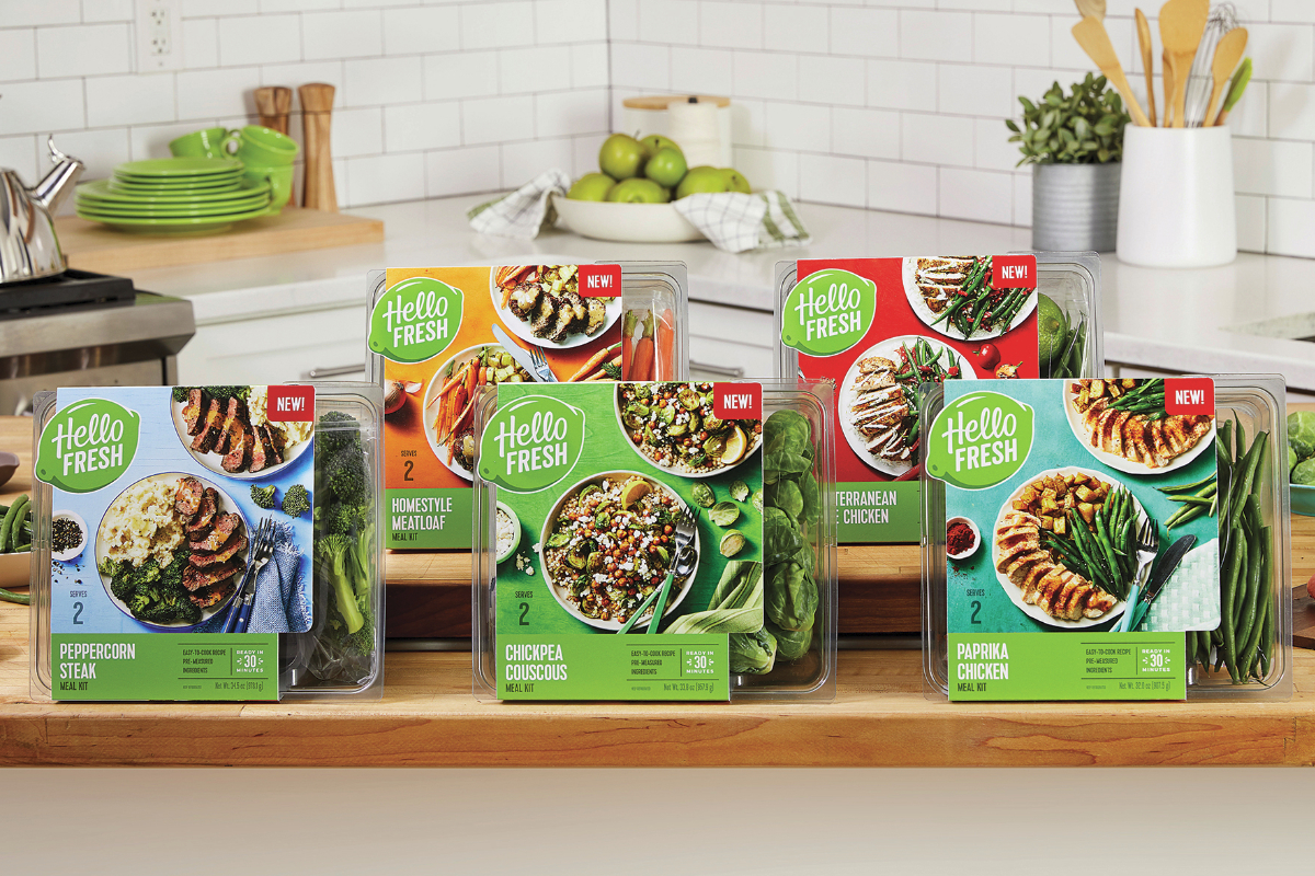 HelloFresh retail meal kits