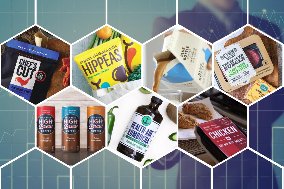 Venture capital investing in food accelerating | 2018-06-26 | Food