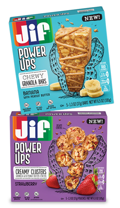 Jif Power Ups bars