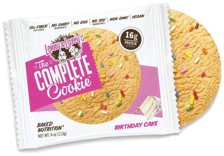 Lenny & Larry's Complete Cookie birthday cake