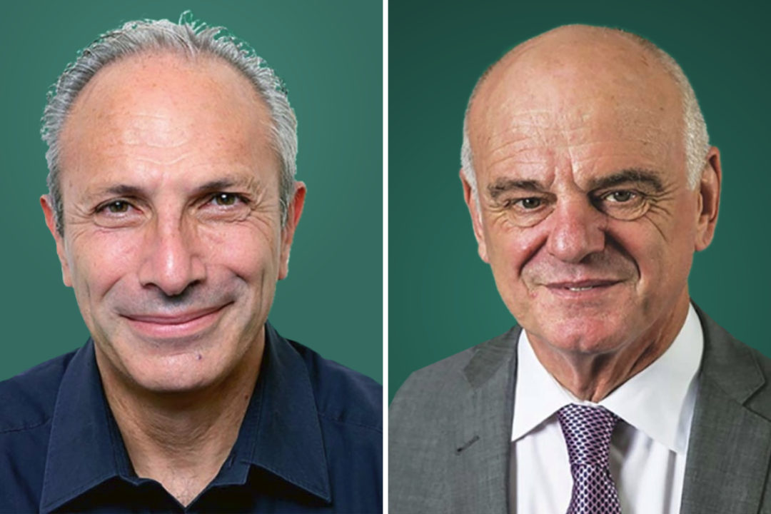 Drs. Lawrence Haddad and David Nabarro