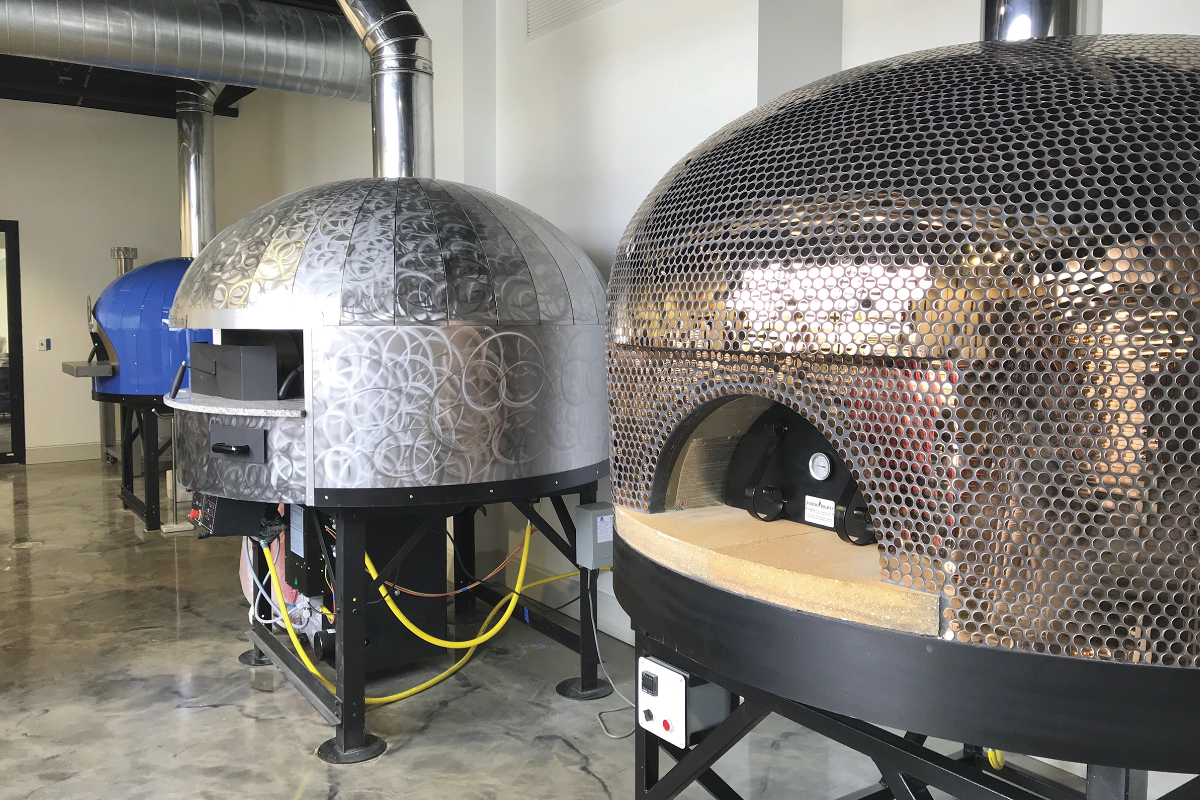 Lesaffre pizza ovens, Pizza Innovation Center