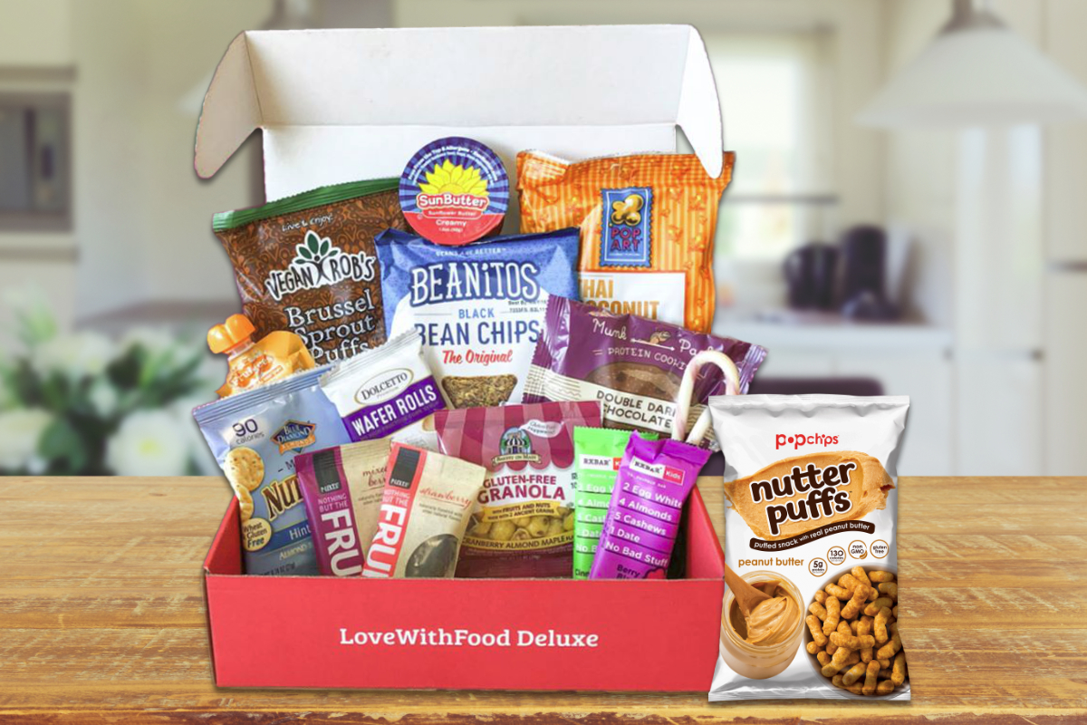 Love With Food snack subscription box