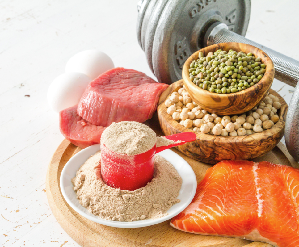 Natural protein ingredients