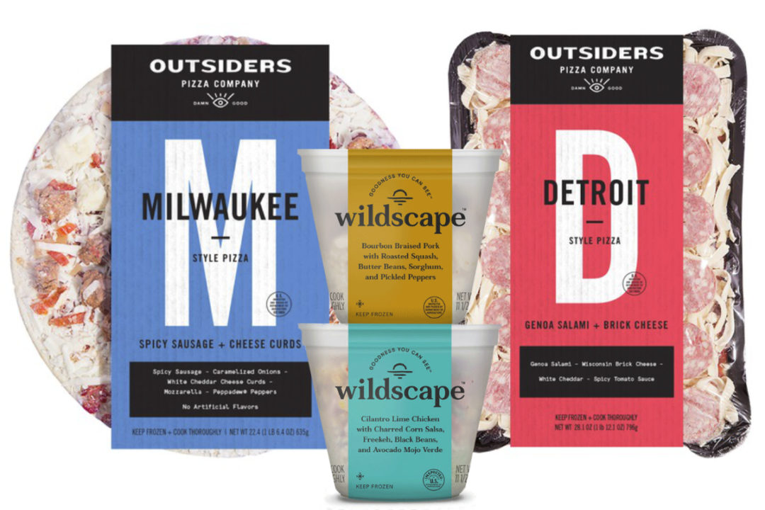 Outsiders Pizza Co. and Wildscape frozen foods, Nestle
