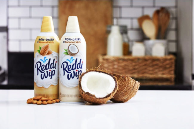 Conagra Brands plant-based Reddi-wip whipped topping