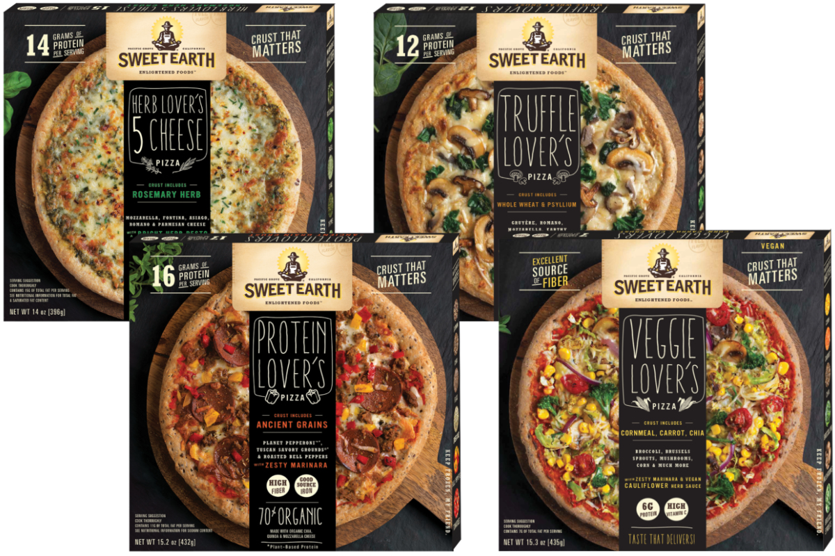 Sweet Earth Foods pizza, Nestle