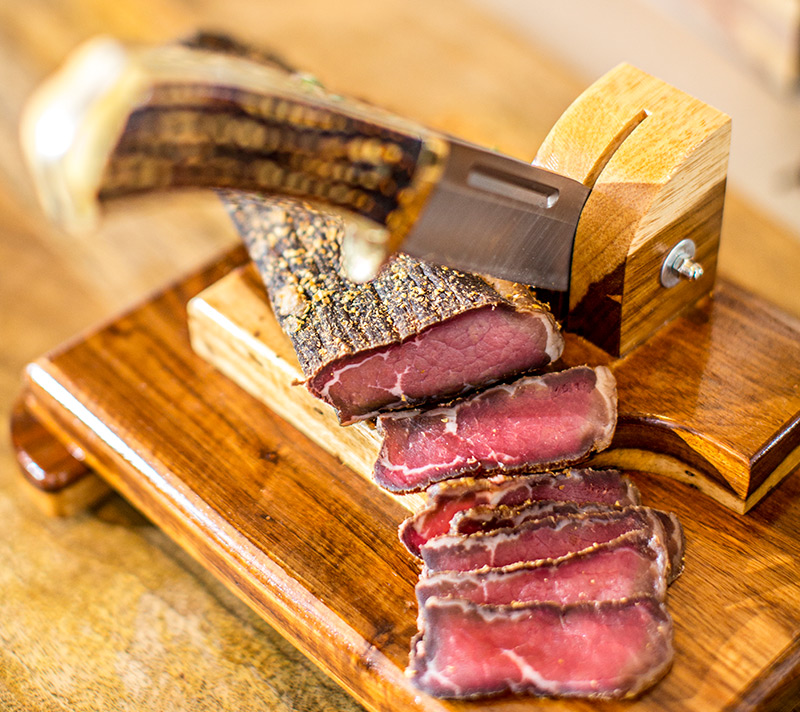 Sliced biltong, The Biltong Bar