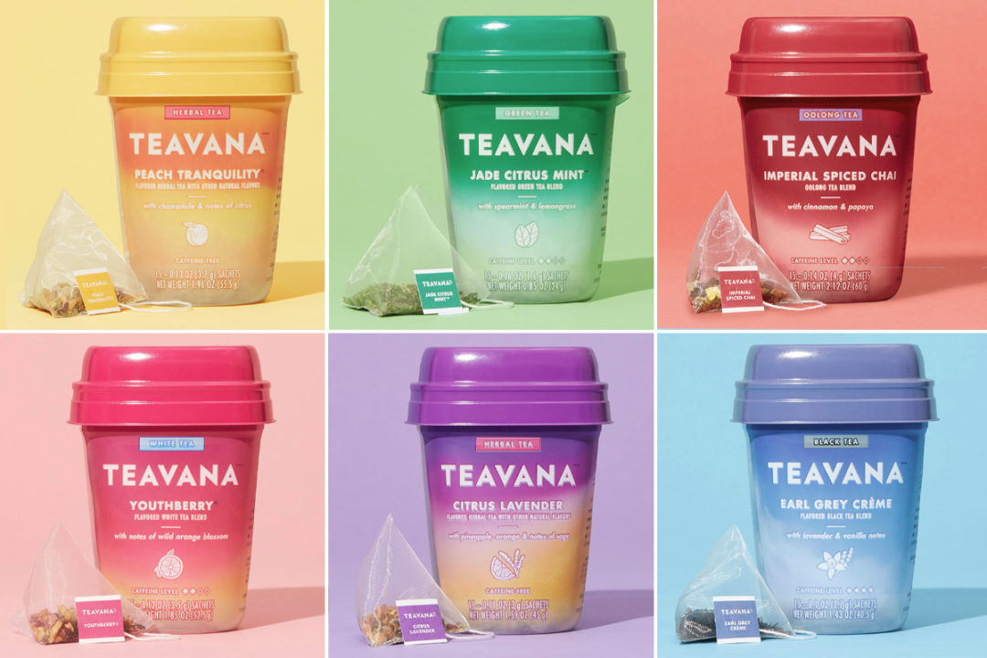 Starbucks Teavana packaged tea
