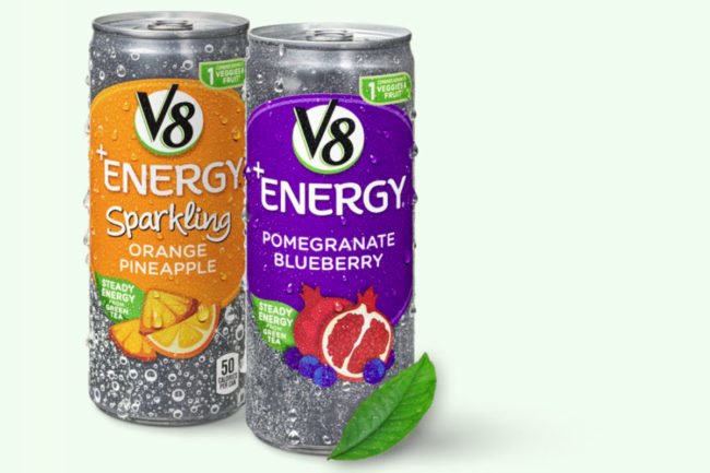 V8+Energy, Campbell Soup