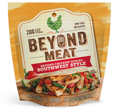 Beyond Meat Southwest style strips
