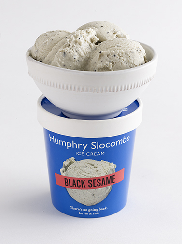 Humphry Slocombes Black Sesame ice cream