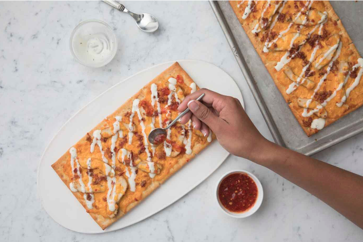 Chick-fil-A Mealtime Kit Chicken Flatbread