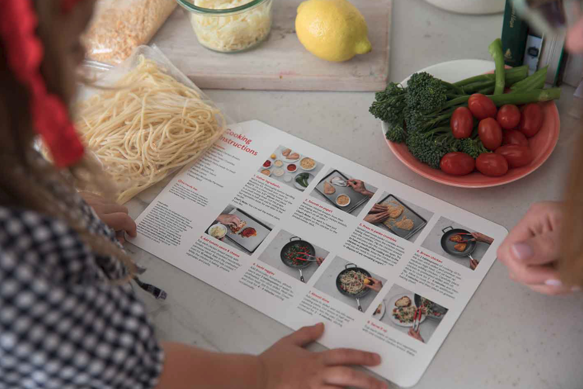 Chick-fil-A Mealtime Kit recipe card