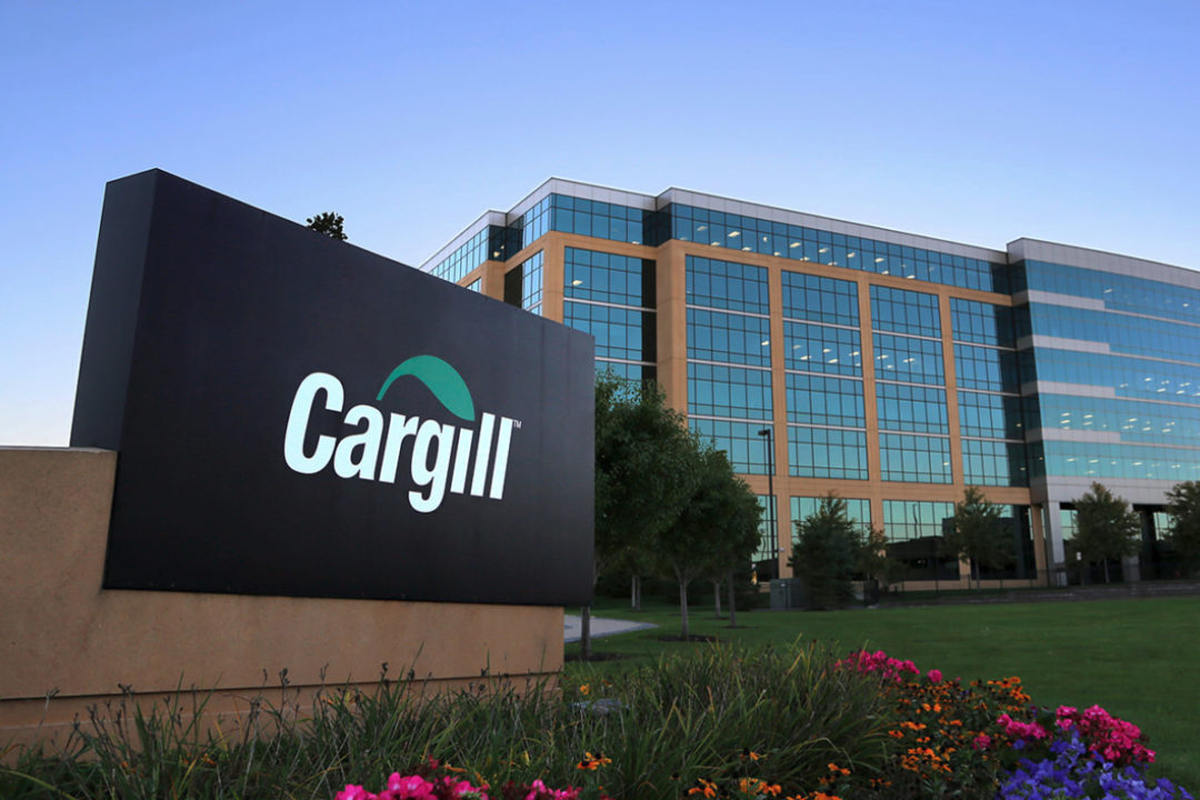 Cargill headquarters sign
