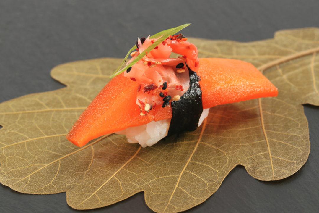 Sakimi carrot salmon, Ocean Hugger Foods, Inc.