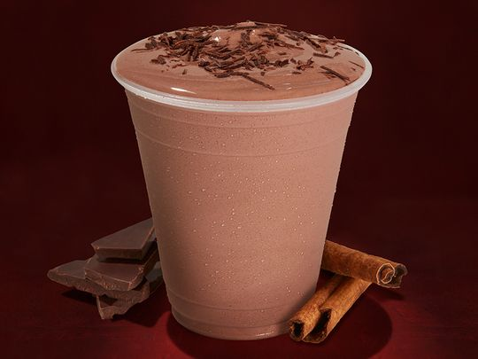 Chipotle Mexican chocolate milkshake