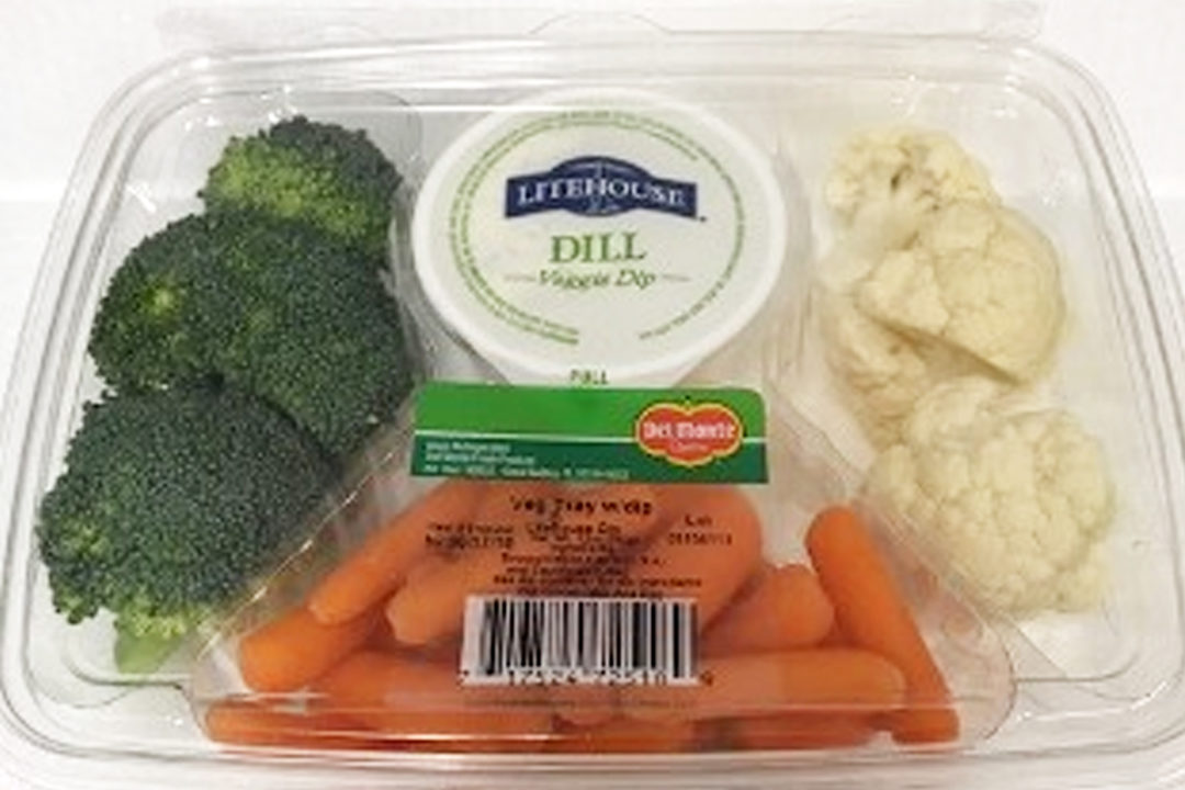 Del Monte vegetable tray