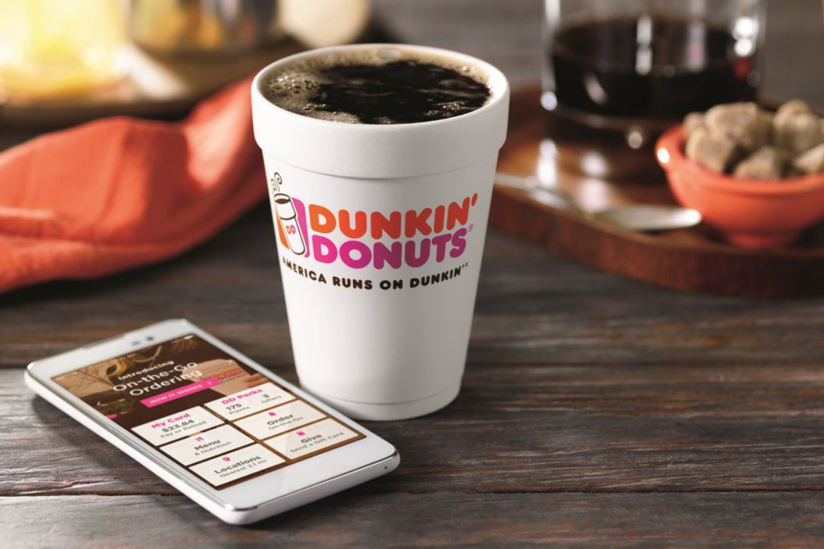 Dunkin' Donuts mobile app