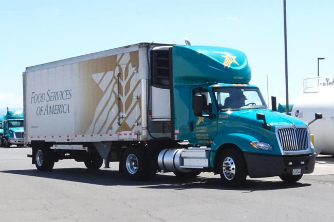 Food Services of America truck