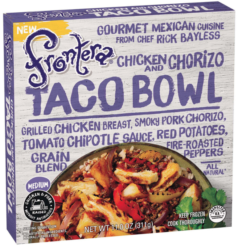 Frontera chicken and chorizo bowl