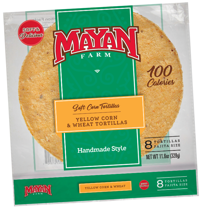 Mayan Farm tortillas, Harbar
