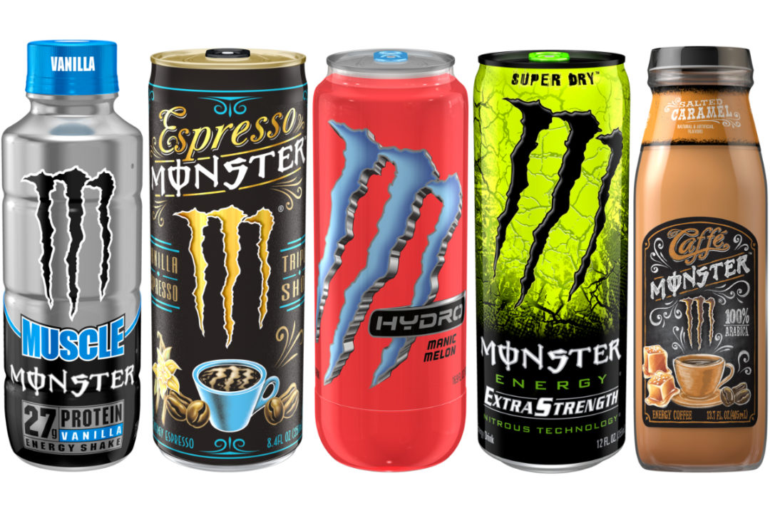 Monster Beverage Corp. energy drinks