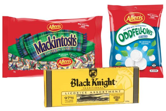 Nestle New Zealand confectionery