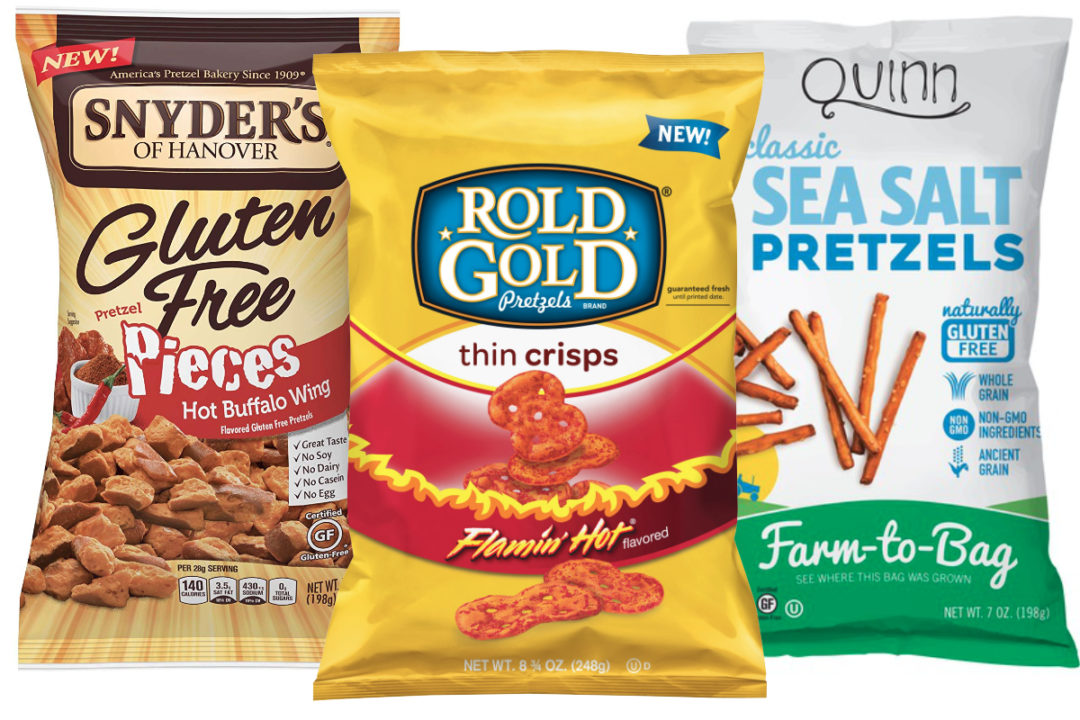 New pretzel varieties