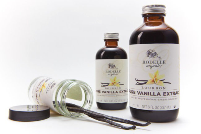 Rodelle vanilla products