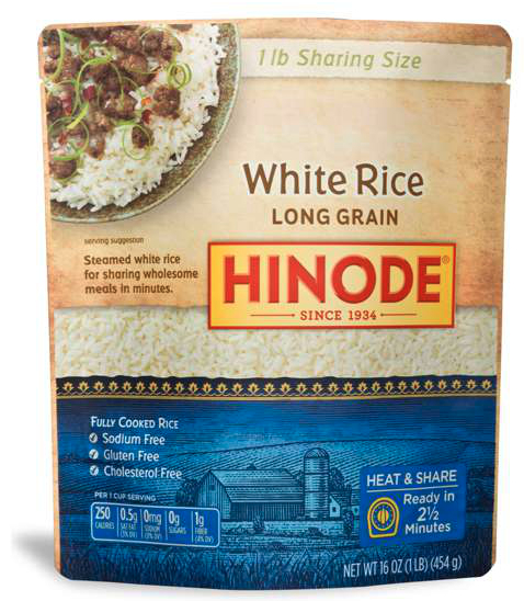 Shareable size rice