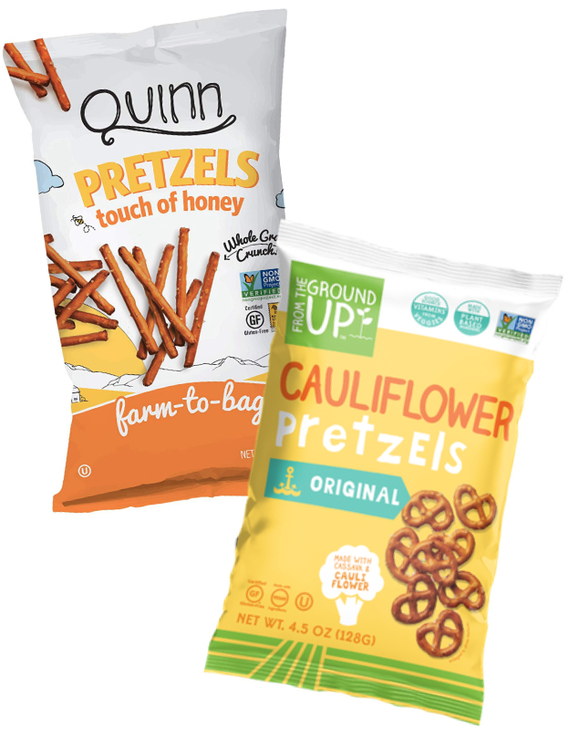 Quinn pretzels and From the Ground Up Pretzels