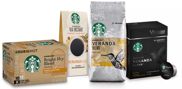 Starbucks retail products