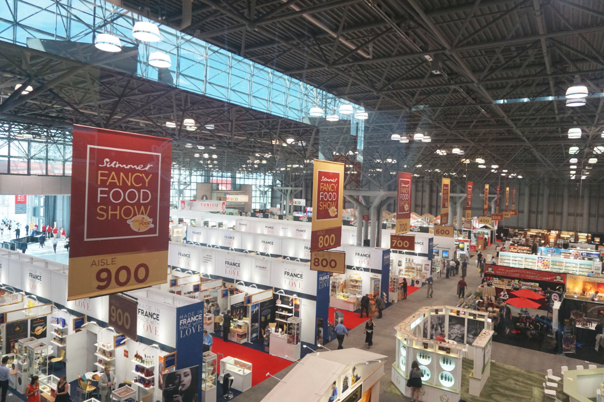 Summer Fancy Food Show floor