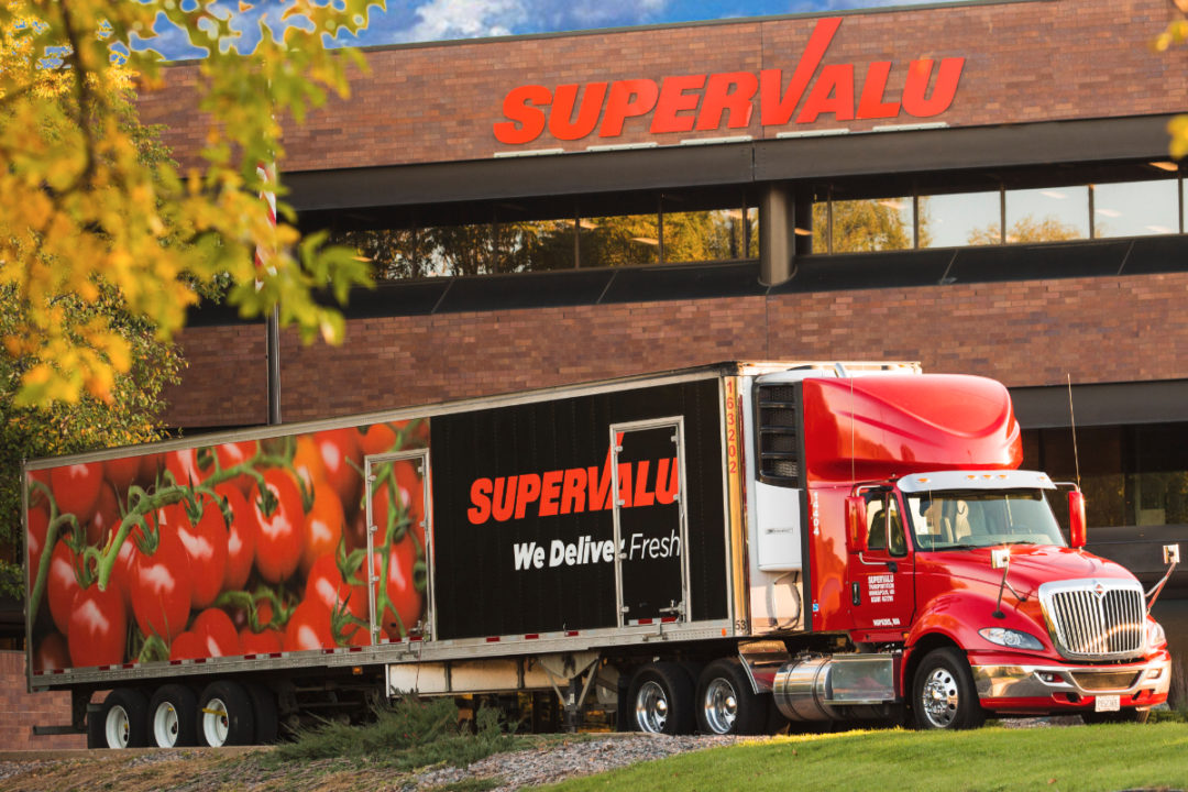 Supervalu facility and truck